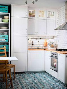 Ocho consejos para distribuir el mobiliario en la cocina
