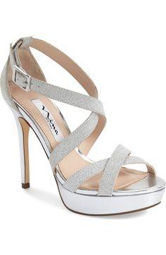 Nina 'Sevilla' Strappy Sandal (Women) available at #Nordstrom