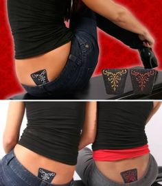 the Backtacular Gluteal Cleft Shield to hide your butt crack... HAAHAHAHA!   I know a place that could use these!