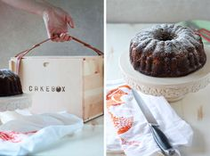 Vegan Gingerbread Pear Bundt Cake   $250 MightyNest Giveaway