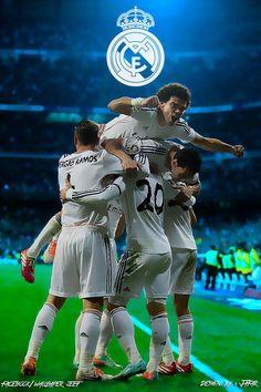 """"""" ¡¡Un Madridista nunca se rinde, porque somos el Real Madrid!! ¡¡A por todas!! #HALAMADRID """" #ikerPasion"""