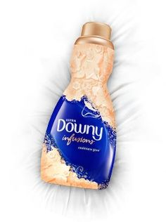 I'm completely in love with this! Downy® Infusions™ Cashmere Glow Liquid - Breathe in the rich, elegant floral scent. Feel the exquisite softness.