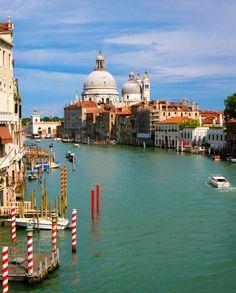 VENICE, ITALY- A beautiful sunny day exploring the floating city of Venezia Italia