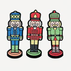 Color Your Own Nutcracker Fuzzy Magnets - OrientalTrading.com  #OrientalTrading   #ChristmasWishList