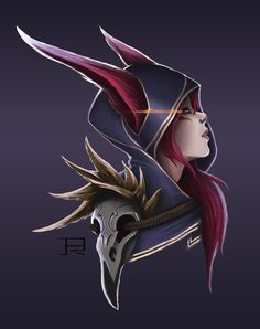My fanart for the new champion coming to League of Legends, Xayah the Rebel! Hope you enjoy it!