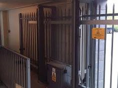 Image result for cantilever gate london Lockers, Locker Storage, Gate, London, Furniture, Home Decor, Decoration Home, Portal, Room Decor