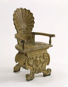Armchair, Cleyn, about 1625. Victoria and Albert Museum