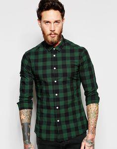 Camisa Xadrez como usar