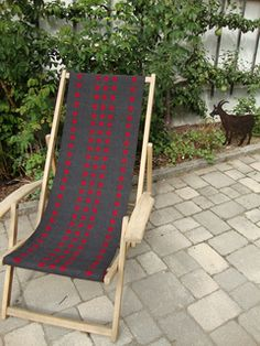 Ravelry: Hemma's Red an grey squares