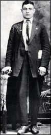 """Neshan Krekorian (26)   3rd Class Passenger   Born 5/12/1886 in Armenia He wasn't very happy to be onboard the Titanic and made a comment about being """"cooped up like a chicken"""".  There is some controversy about his getting into a lifeboat. Some say he jumped in ahead of others and some say he was ordered to get in he survived the sinking He eventually married-but never again did he go near a boat.  He died May 21, 1978 at the old age of 92."""