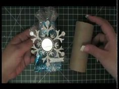 Learn how to create this elegant sour cream container using a toilet paper roll. In this video you will also learn how to metal emboss toilet paper rolls. Don't miss out on this exciting project that is sure to wow everybody.