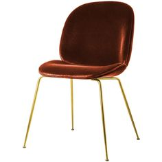 Beetle Dining Chair Dark Terracotta - The Conran Shop