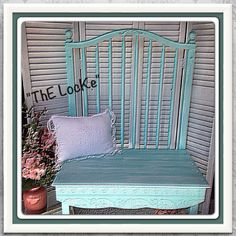 Items similar to Bench.ThE PreSepe VerDe on Etsy Outdoor Furniture Plans, Cheap Furniture, Shabby Chic Furniture, Home Furniture, Furniture Design, Furniture Repair, Furniture Refinishing, Furniture Ideas, Bedroom Furniture Inspiration