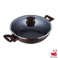 Wellberg Chinese Wok: Buy Wellberg Wok With Lid 24 Cm Online | Oyekitchen.com