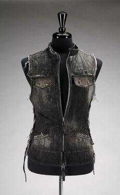 Agatha Blois Leather Vest