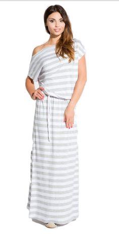 Cold Shoulder Dress, Dresses For Work, Grey, Summer, Fashion, Gray, Moda, Summer Time, Fashion Styles