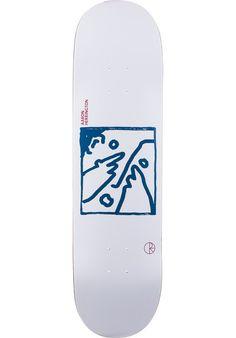 Polar Skate Co Aaron Herrington Doodle Face Tabla white comprar en titus-shop.com