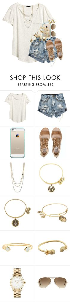 """no caption ideas"" by thefashionbyem ❤ liked on Polyvore featuring H&M, Casetify, Billabong, BCBGeneration, Alex and Ani, Monsoon, Lilly Pulitzer, Marc by Marc Jacobs, Ray-Ban and Dogeared"