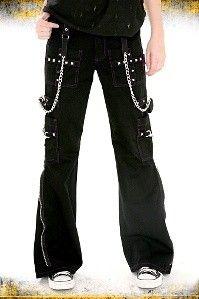 Tripp Black And Purple Stitch Dark Street Pants
