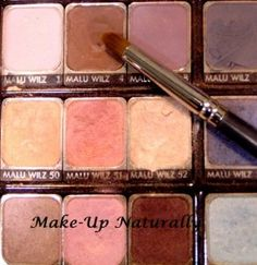 Natural Make-Up – Make Your Own eyeshadows skin care, homemade, Gift ideas
