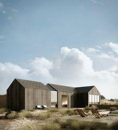 Beach House on Behance