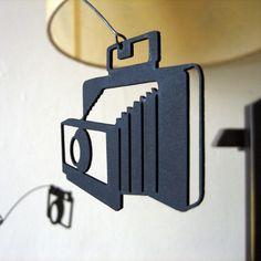 Vintage Camera mobile. $36.00, via Etsy.