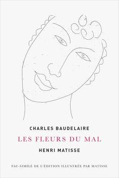 Henri Matisse, Illustration pour Les Fleurs du Mal, 1946, musée Matisse Orsay, Expo, Henri Matisse, Illustration, Books, The Flowers Of Evil, Livres, Black People, Libros