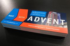 120# satin cover postcards with popping colours for @rentwithadvent!