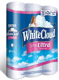 BOGO FREE White Cloud 3 Ply Bath Tissue Coupon on http://hunt4freebies.com/coupons