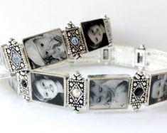 Custom Photo Bracelet by SimplyCharmNg on Etsy