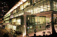 Facultad de Economía y Negocios Chile, Multi Story Building, South America, Manaus, University, Santiago, Buildings, Architecture, Chili