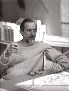 Renzo Piano, laureate 1998, born 14 September 1937, Genova, Italy.