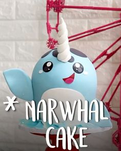 Move over #unicorn #cakes ..Narwhal #Cake, easy, recipe, pops, birthday, diy, topper