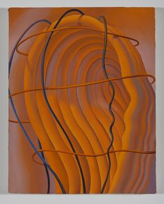 Sascha Braunig Veined, Cuffed, Brained #1, 2013 oil on canvas over panel 35,6 × 27,9 cm