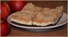 Koláč ze špaldové mouky s tvarohem a jablky