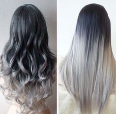 Silver Hair Ombré - Jessica Z Beauty Tumblr