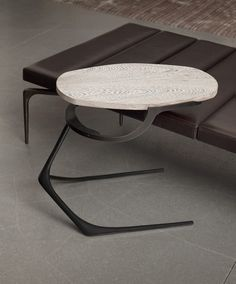 Wishbone Table - CASTE Design ridiculously beautiful daybed table pairing