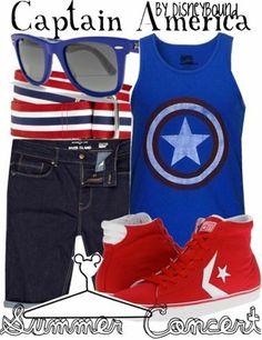 Disney Bound - Captain America