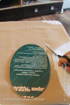 Здравствуйте! давно просили сделать мк по обтягиванию картона тканью. фото 9