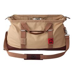 Canvas Duffle Bag With Leather Trim Mountain Khakis Cabin