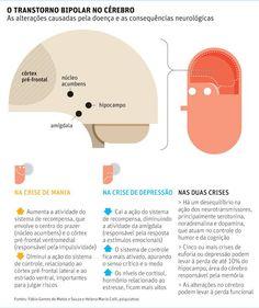 Infográfico Sobre as Alterações de #Humor e as Consequências #Neurológicas do Transtorno Bipolar!! #TranstornoBipolar #Bipolaridade #Psicoeducação #Saúde [Pinado através do URL da imagem da Casa do Psicólogo(Facebook).]