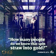 Pfffft. At least... Yeah, nope, just one. Well two, but only one's resurrection would be positive (Cora and Rumpel have both spun straw into gold).