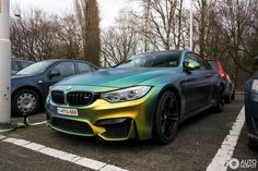 MATTE BMW ----green&YELLOW