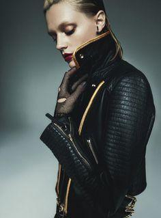 Leila Goldkuhl by Greg Kadel for Vogue Australia March 2016