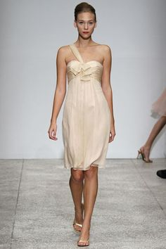 Vanilla Bridesmaid Dress
