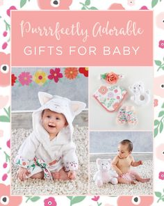 Floral prints are a seasonal must-have, and pretty posies floral prints are especially trendy right now. The mix of bold flowers over a white background make this print a must-have. Baby Shower Gifts, Baby Gifts, Baby Aspen, Shower Inspiration, Cute Gifts, Giveaways, Floral Prints, Babies, Pretty