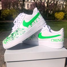 Behind The Scenes By dripkix_official Nike Shoes Blue, Nike Shoes Air Force, Custom Sneakers, Custom Shoes, Sneakers Nike, Cool Shoes For Teen Boys, Teen Boy Fashion, Guy Fashion, Winter Fashion