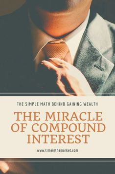 The first 100000 is the hardest the miracle of compound interest Compound interest is the magic behind early retirement Learn all about it here Retirement Cards, Early Retirement, Retirement Planning, Retirement Advice, Money Tips, Money Saving Tips, Saving Ideas, Thing 1, Simple Math