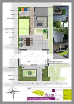 Veelzijdige nieuwbouwtuin in Ede - Kerngroen Kerngroen - Alles Garden Design Plans, Modern Garden Design, Diy Garden Furniture, Garden Planner, Small Gardens, Backyard Landscaping, Planer, Home And Garden, Netherlands