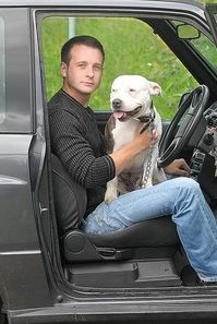 Refusing to relinquish his faithful pet, Luke Male is living in his car after losing his job and his home.